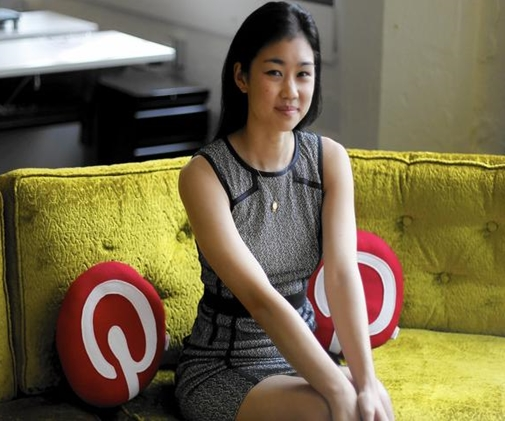 """engineer at Pinterest, 27-year-old Tracy Chou said she was once bypassed for promotion at a previous start-up, where she sensed a pattern of being excluded from conversations and """"an undercurrent of sexism"""