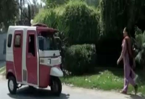 women only rickshaw service in lahore pakistan