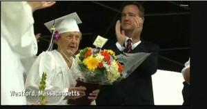 94year old graduates high school