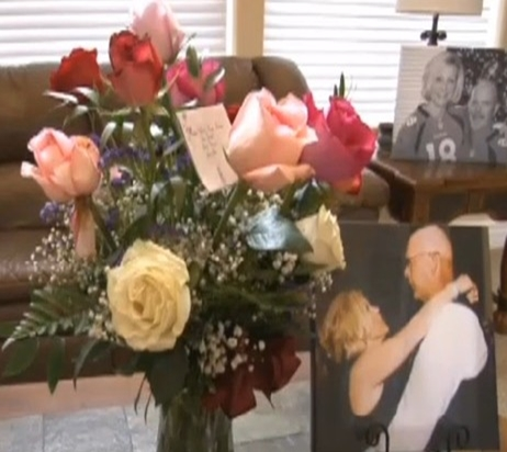 husband wanted make Valentine's Day special for his wife Shelly Golay, but he knew his days were limited