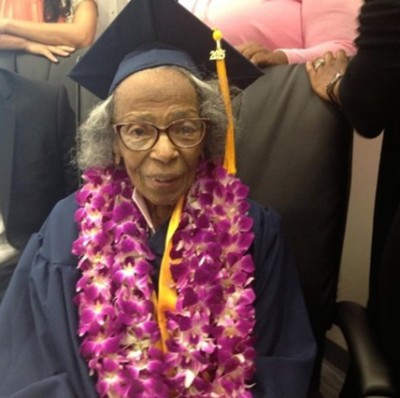 99-Year-Old Woman Who Graduated From College of the Canyons